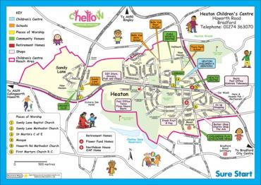 Childrens Centre Maps - Town map for kids