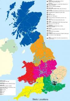 UK Maps - Large wall map of uk