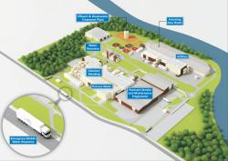 Food & Drink Manufacturing Site Illustration